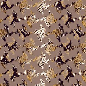 Tissu peau de bête - Cold Talc - Mercery Market