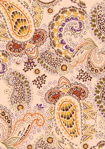 Tissu floral - Cold diane - Mercery Market