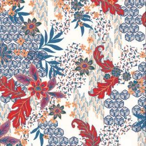 Tissu floral - Cold pati - Mercery Market