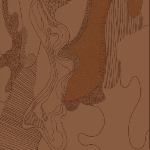 Tissu minimaliste - Snow namu - Mercery Market