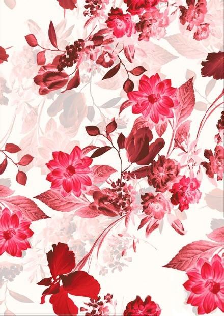 Tissu floral - Cold tic - Mercery Market