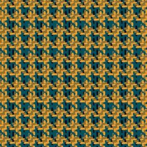 Tissu géométrique - Cold tooth - Mercery Market
