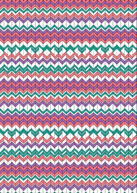 Tissu géométrique - Flo rame - Mercery Market