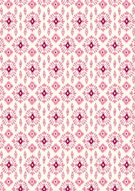 Tissu géométrique - Flo tiare - Mercery Market